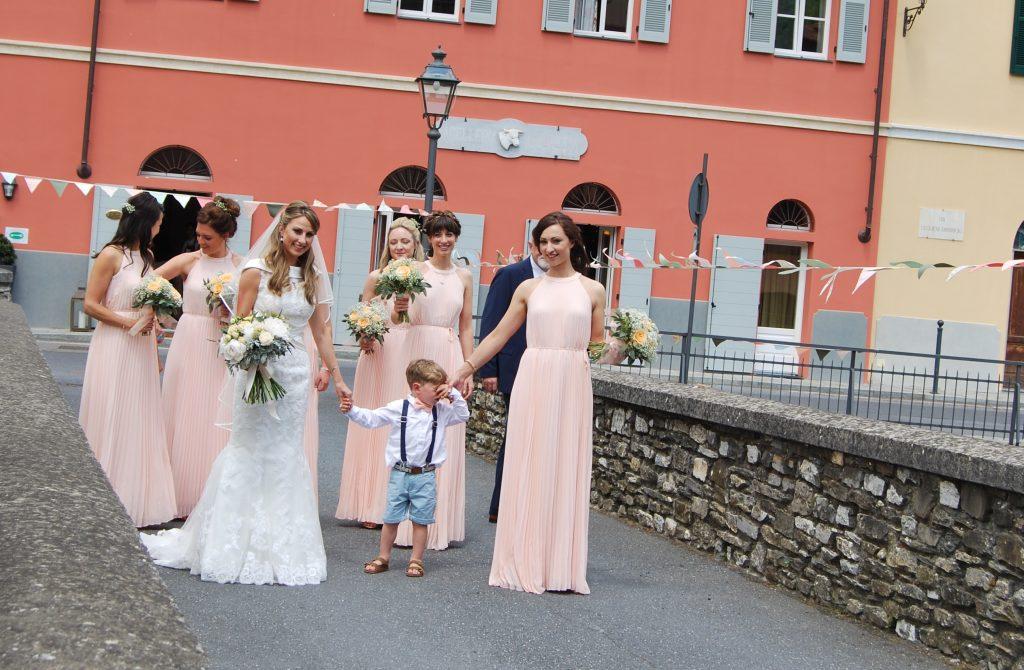 Matrimonio in Liguria: l'Arrivo della sposa
