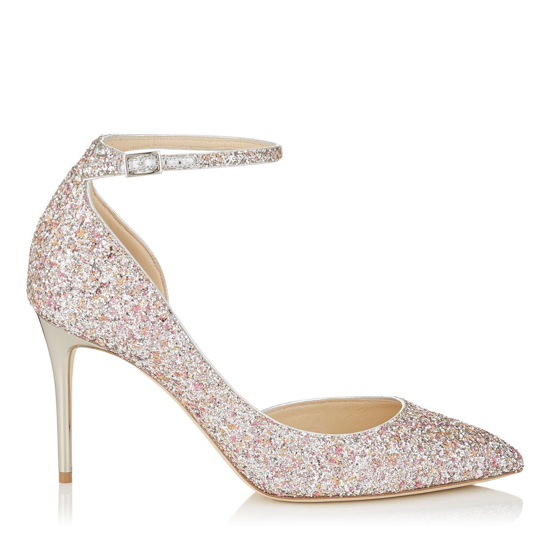 scarpa sposa con tacco a spillo