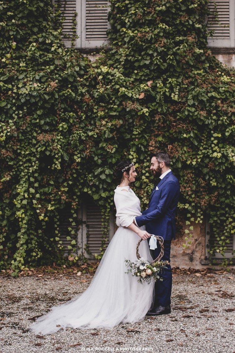 sposi matrimonio in inverno