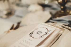 stampa menu wedding