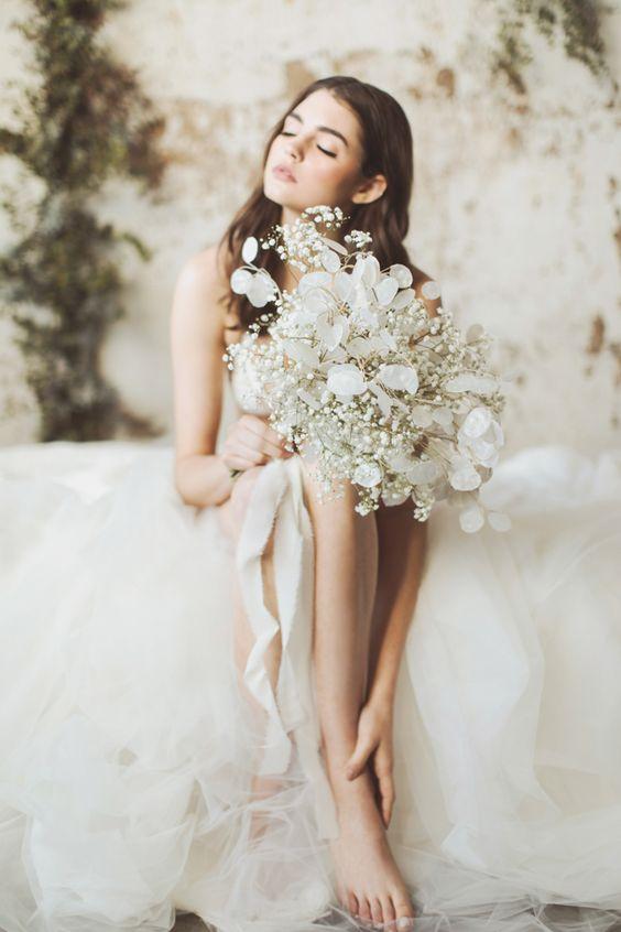 bouquet eco-green di fiori secchi